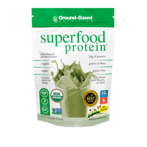 ground based nutrition superfood protein sample