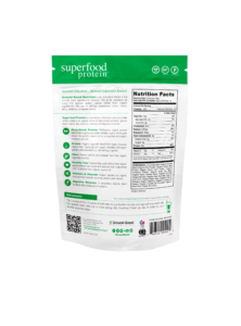 ground based nutrition superfood protein nutrition facts