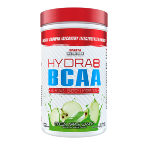 sparta nutrition hydra8 bcaa green apple