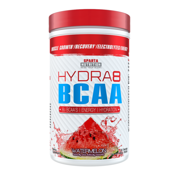 sparta nutrition hydra8 bcaa watermelon