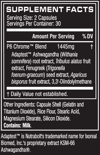 p6 chrome testosterone