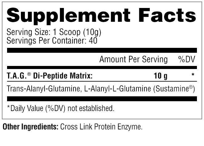 t.a.g. glutamine