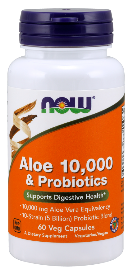 now foods aloe and probiotics