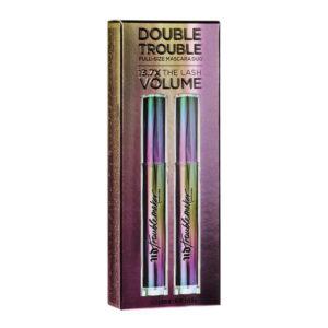 DOUBLE TROUBLE Full-Size Mascara Duo