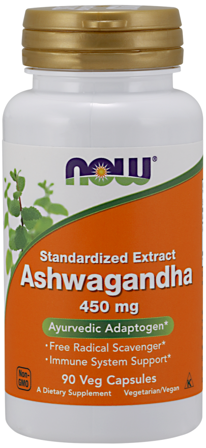 now foods ashwagandha 450 mg veg capsules  super health