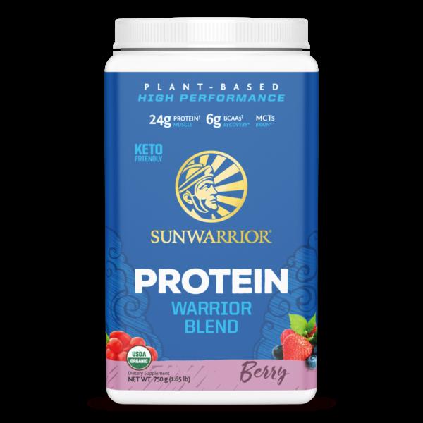 sunwarrior protein blend